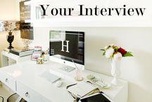 interviews & real life / by Amanda McKay