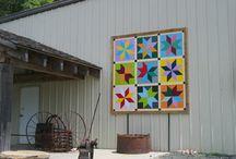 Barns & Barn Quilts / by Jennifer Mathis (Ellison Lane: Modern Sewing & Design)