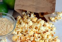Food stuff - Snack / Recipes for snack foods - things like nuts, popcorn, fruit snacks, granola bars, etc.   / by Christy