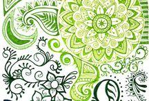 Zentangles that Inspire! / by Gelli Arts®