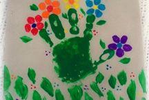 handprint flowers / by Joely Flegler