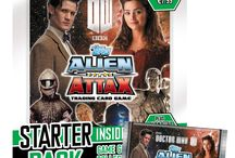 Alien Attax 24/7 / Alien attax .cards,buy cards,rainbow foil cards,mirror foil cards  / by Jack Morgan