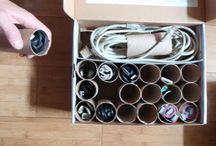 Upcycle: TP rolls / by Betsy (Eco-novice)