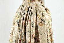 1700-1750 - Extent Baroque to Rococo Garments / by Leimomi Oakes