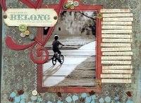 scrapbook page ideas / by Jill Meraw