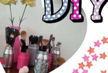 DIY!! Hazlo tu mismo! / Creaciones súper lindas que puedas hacer tu misma con instrucciones incluidas  / by Mafer Barriga Aguirre