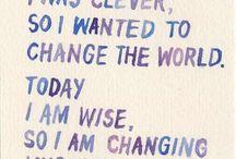 Quotes/Inspiración / by Giannina Córdoba