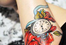 Inked skin / Tatuagens que eu faria (algumas um dia farei...) / by Vívian Freitas