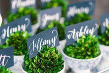 Green Weddings / by Artfully Wed