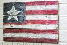 Americana and Me / Americana, country, and primitive decor for the home. / by Carolyn Hutson