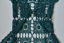crochet clothing / by Vickie Bevens