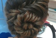 hair styling / by Arielle Van Vleet
