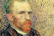 Vincent Van Gogh / Vincent Willem Van Gogh - 30 March 1853 / 29 July 1890 - Dutch postImpressionist - notable for its rough beauty, emotional honesty and bold color.  / by Annelotte de Meijer