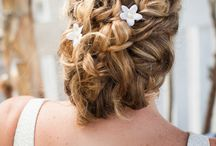 wedding hair/accessories / by Andrea Parsons
