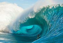 ocean   blue / by Sher-Sher Shacklette
