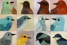 Art - birds / by Eleanor Lanyon