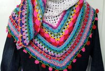 crochet shawls panchos and coats / by Veronica Wilkinson