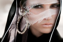 Arabian Nights / Mysterious and magical, beautiful and beguiling, with crystals that shimmer like stars in the night sky, the abaya is a garment of elegance, grace, and beauty.  / by Swarovski