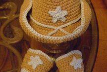 Crochet - hats / by Tecia Grover