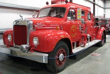 fire trucks / by Jeff Larsen