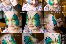 face paint / by Judy Nilsen