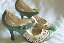 Shoes / Give a girl the right shoes, and she can conquer the world.  ~Marilyn Monroe / by Melinda Linscott