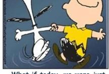 Peanuts Gang / I love, Charlie Brown, Snoopy,  and  all the gang! / by Marcia Cahoon