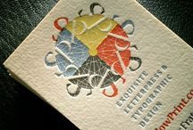 Graphic Design: Letterpress / amazing letterpress design / by Inspiration Exhibit