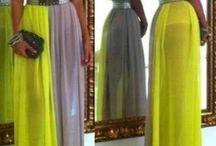 maxi dresses / by Kisha Makeda