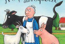 Julia Donaldson / Es una de las autoras de literatura infantil más populares de Gran Bretaña. Su colaboración con el ilustrador Axel Scheffler ha sido reconocida con importantes premios y ha convertido a El Grúfalo en un clásico. También es autora de obras de teatro para niños y canciones. / by THE LEARNING BUS Language Centre & Bookshop
