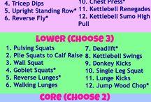 exercises / by Krista Matthews