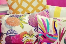 Bold Patterns and Colors / by Cushion Source