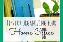 home office / by Megan Amanda