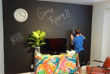 Game Room / Decorating our game room / by Lauren Clark