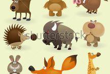 Printable Animals / by Fabiola Gleason