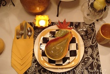 TABLESCAPES, SETTINGS, & CENTERPIECES / by Debbie Evans Baggett