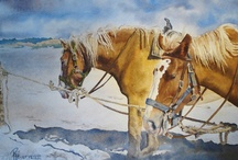 Painted Hill Studio / Some of my watercolor paintings... / by Re' StPeter