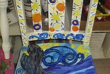 Art- Painted Furniture / by Donna Staten