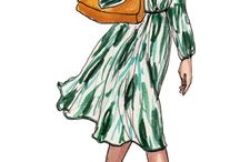 Fashion Drawings / by Nancie Trimm