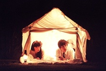 Tents//Teepees//Forts / by Vanessa King