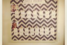 Chore Charts / by Mandi Ardry