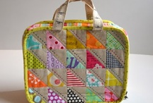 Patchwork Bags, Totes and Pouches / by Red Pepper Quilts