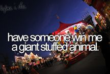 Bucket List! :) / by Samantha Crigler