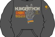 Hungerthon 2013 / Hungerthon 2013 is a national radio campaign that is challenging the idea that anyone should go hungry and changing the way we nourish our country. Purchasing these Limited Edition products will help fight child hunger and poverty worldwide through Grassroots Solutions that secure basic rights to food, water and land. Providing sustainable, nutritious food to children in 22 countries across the globe. Find out more at https://www.hungerthon.org / by Yoko Ono