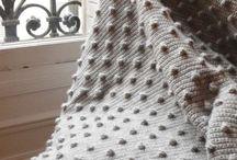 knit idea / home textile / by azusa dannohara