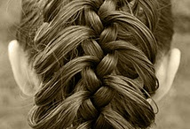 Braids and hairstyles / by Erin Thompson