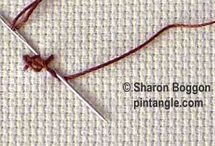 Stitching Techniques / by Karen Balcanoff