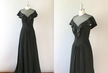 Vintage Gowns I Adore / From 1930s to 1970s - I love seeing how fashion evolved. Best way to see it, is in a gown. / by Risha