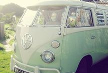 VW van ❤️ / by Vicky Booth