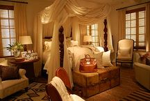 bedrooms / by Barbara Boxell